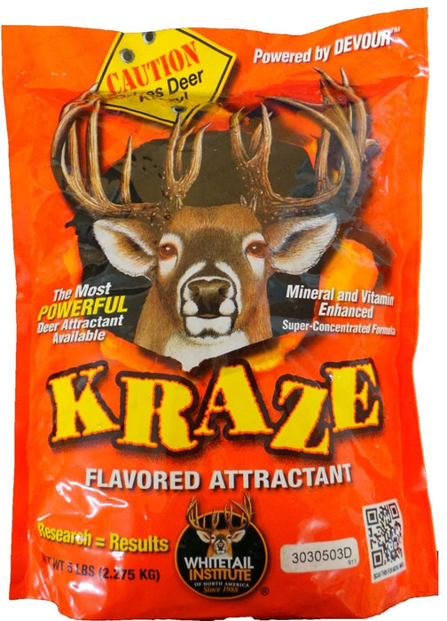 Kraze Deer Attractant - 5 Lbs.