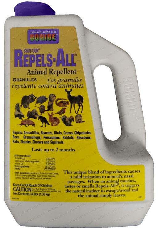 Repels-All Animal Repellent - 3 Lb. Granular