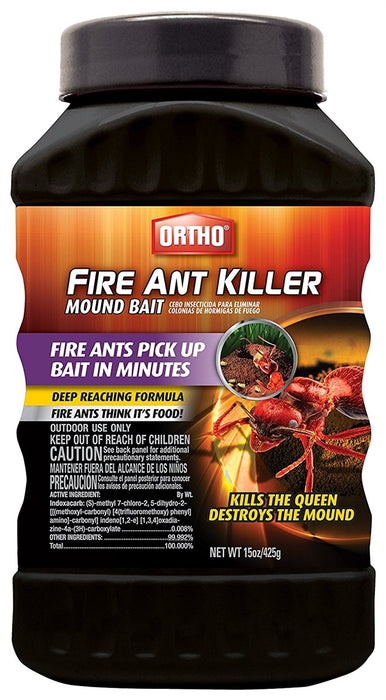 Ortho Fire Ant Killer Mound Bait - 15 oz