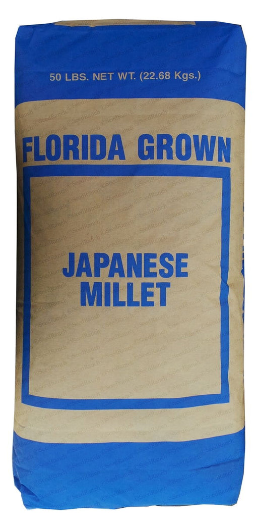 SeedRanch Japanese Millet Seed - 50 Lbs.