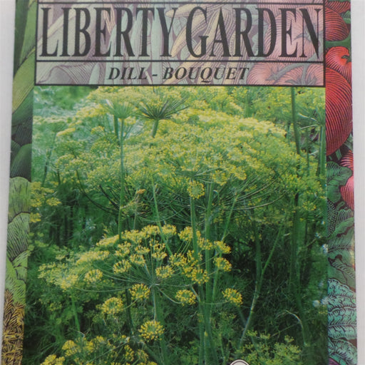 Dill Bouquet Annual Herb Seeds - 1 Packet