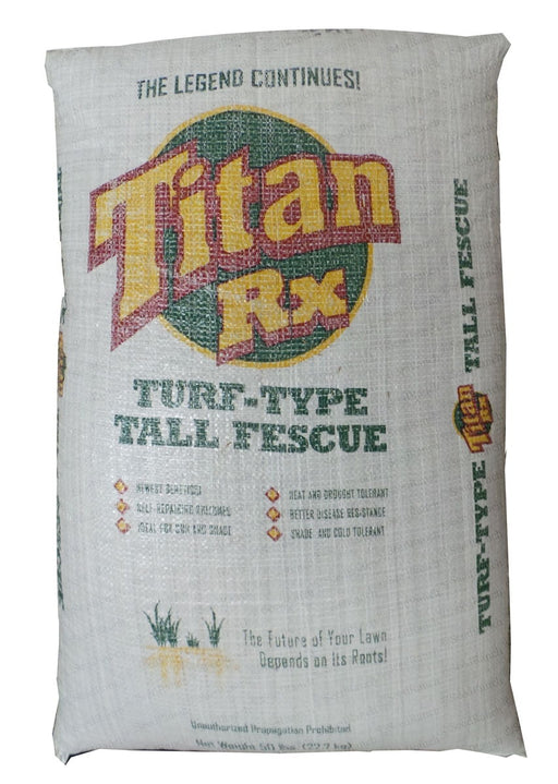 Titan RX Tall Fescue Grass Seed (Certified) - 50 Lbs.
