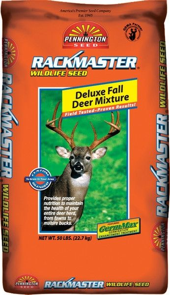 Rackmaster Deluxe Fall Deer Food Plot Seed Mix - 50 Lbs