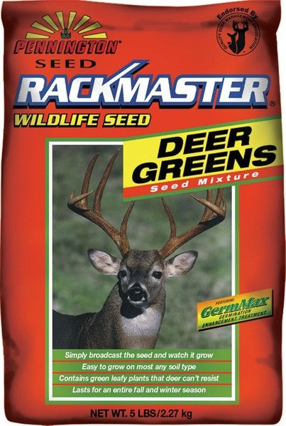 Rackmaster Deer Greens (Brassica) Food Plot Seed Mix- 5 Lbs