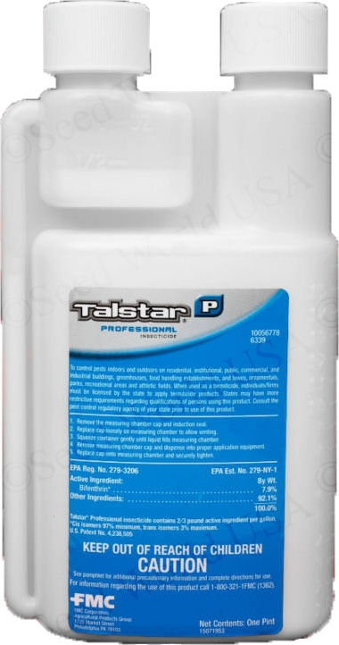 Talstar P Insecticide (Talstar One) - 1 Pint.