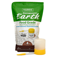Harris Diatomaceous Earth Food Grade - 4 lbs (includes duster)