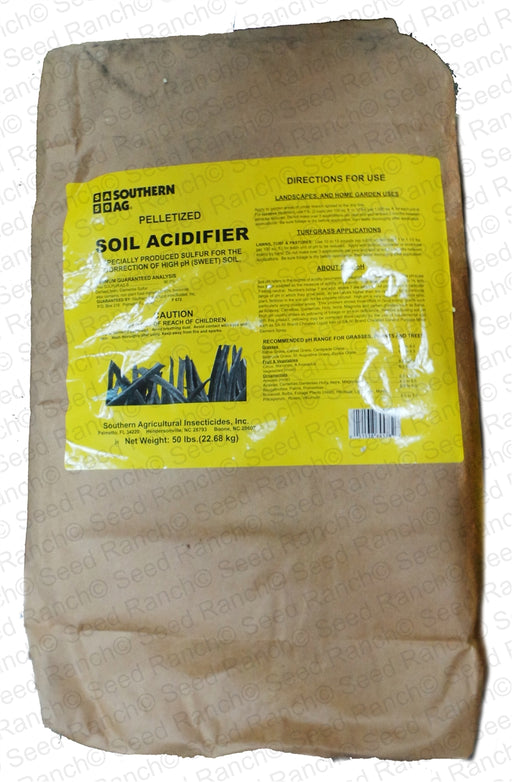 Soil Acidifier Sulfur Fertilizer Pellet - 50 Lbs.