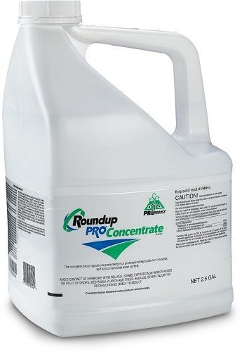 Roundup Pro Concentrate - 2.5 Gallons