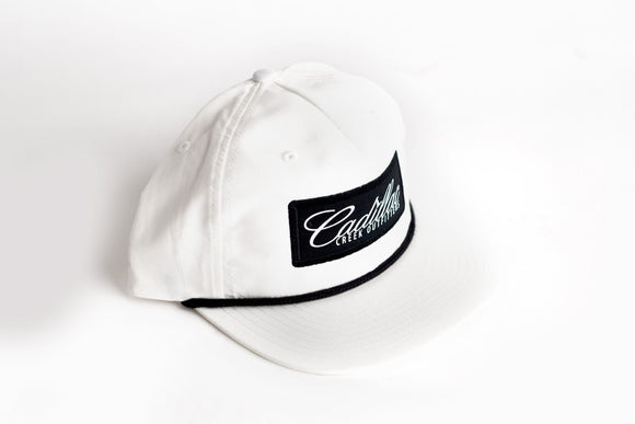 Cadillac Creek Retro Snap-Back - White - cadillaccreek.com