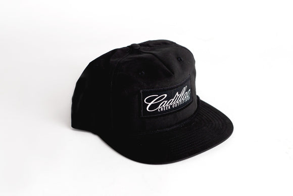 Cadillac Creek Retro Snap-Back - Black - cadillaccreek.com