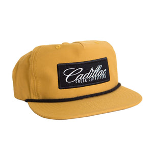 Cadillac Creek Retro Snap-Back - Tan - cadillaccreek.com