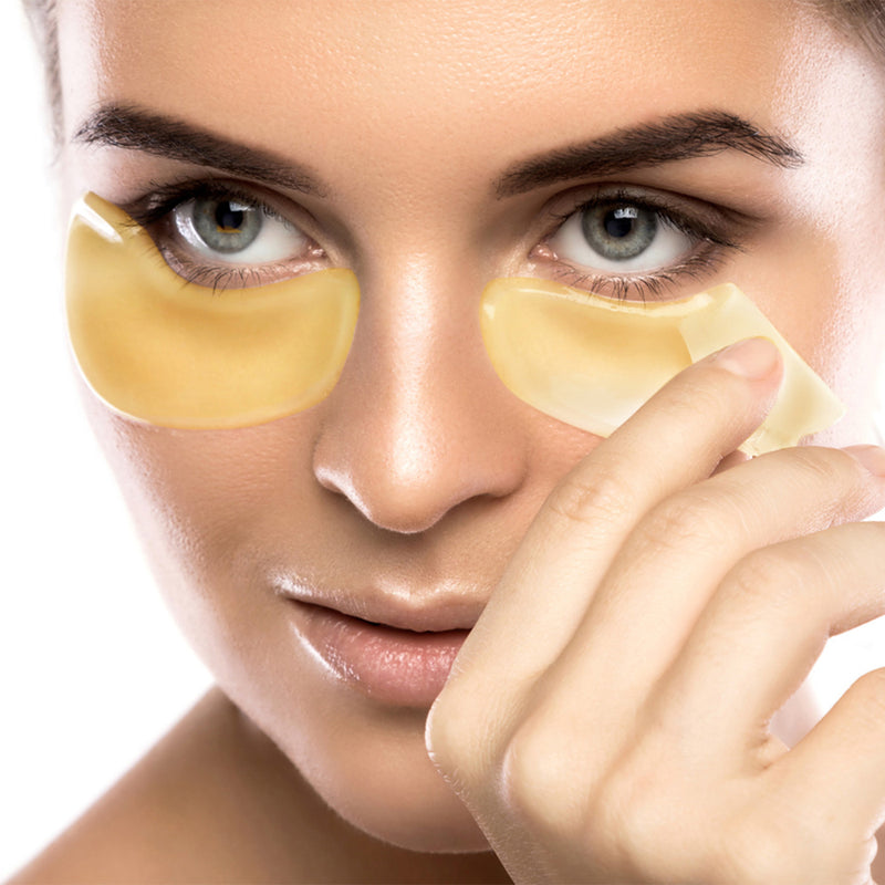 24k Gold Collagen Eye Masks