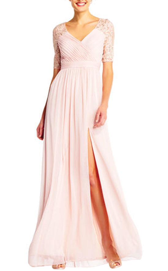 Adrianna Papell Willow Dress Pink