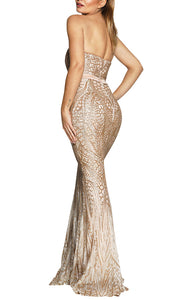Jadore Janie Gold Dress
