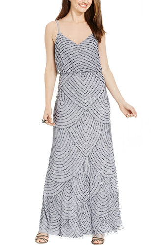 Adrianna Papell Justin Grey Dress
