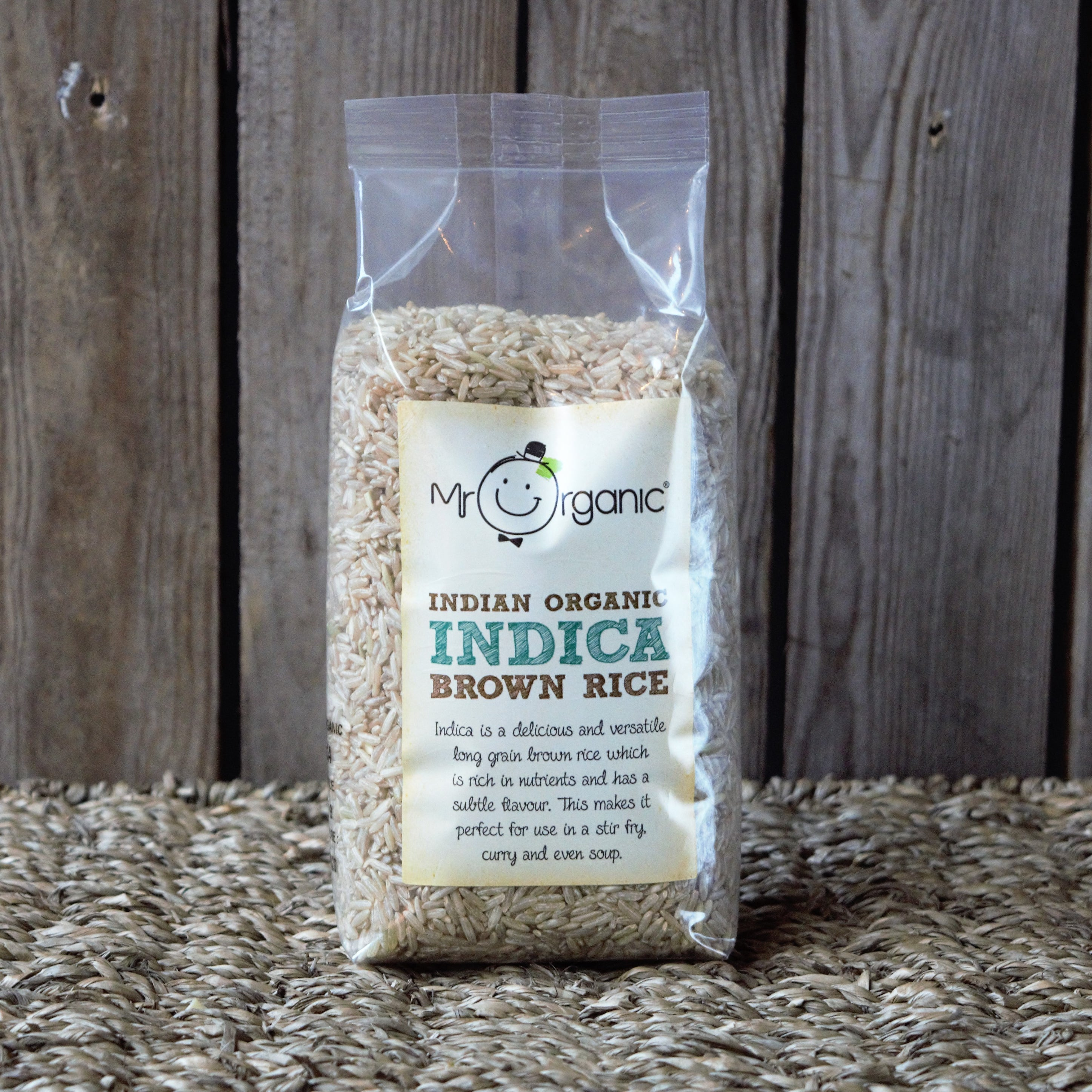 Indica Brown Rice 500g