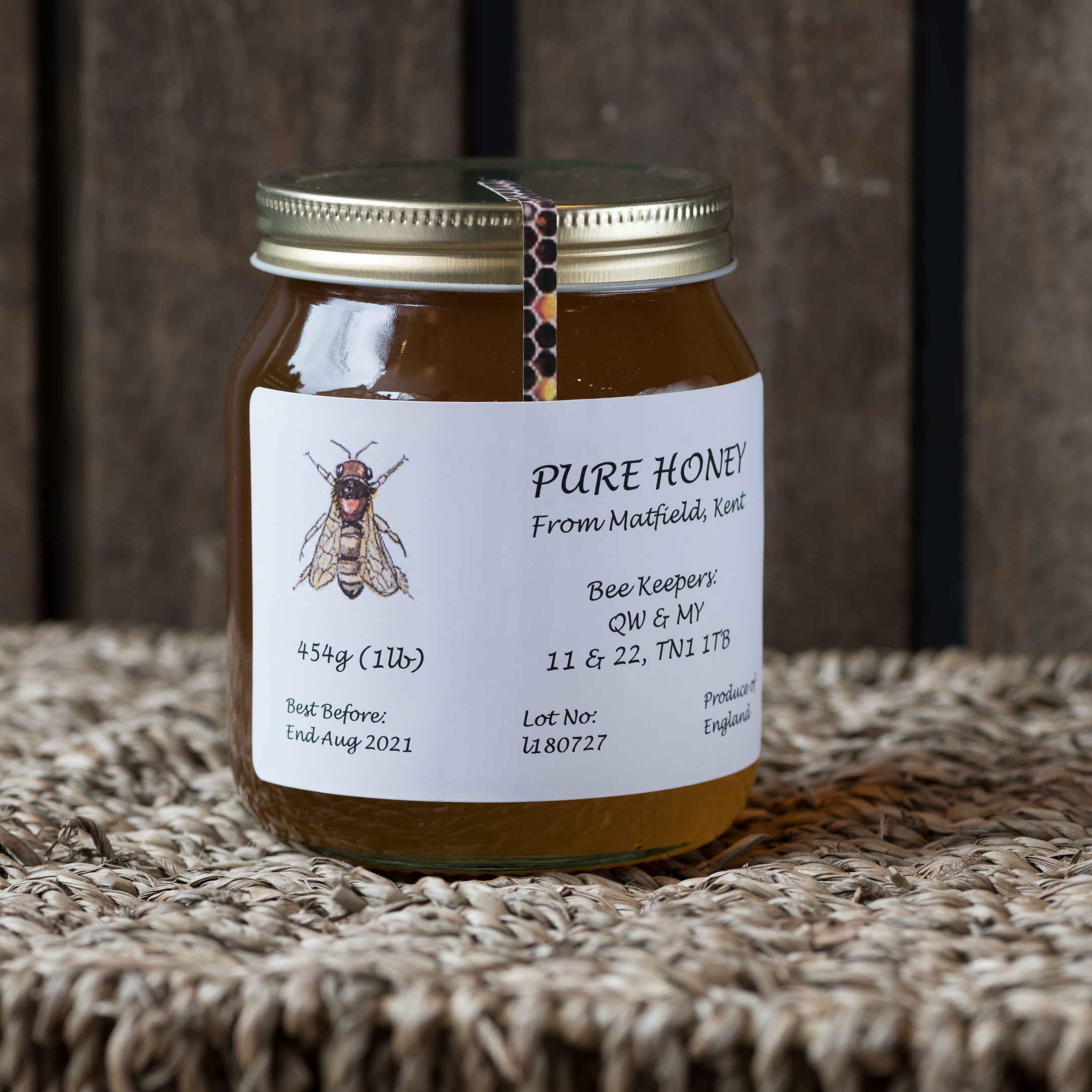 Kent Pure Honey 454g