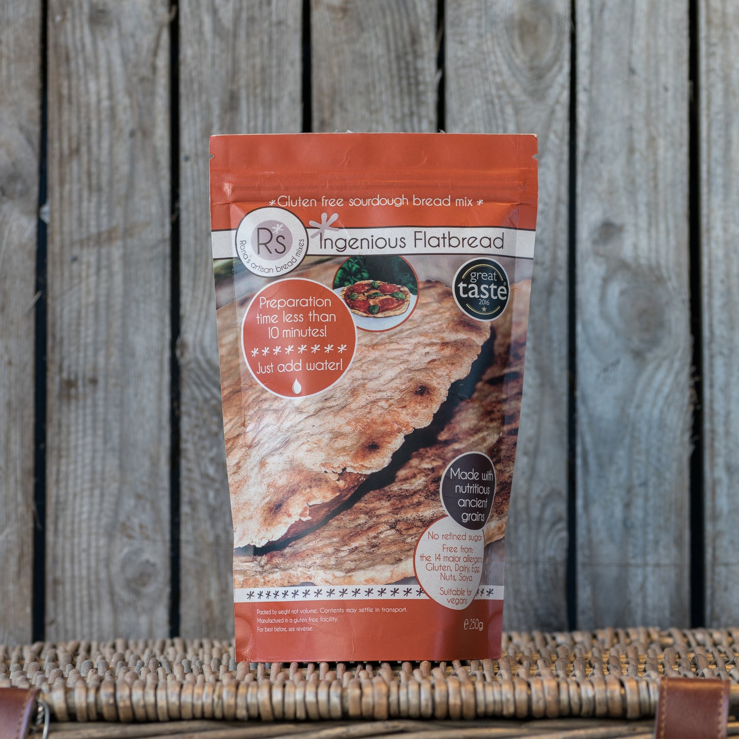 Ingenious Flatbread Sourdough Bread Mix