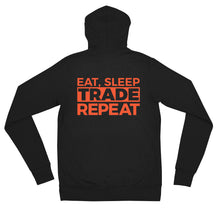 Load image into Gallery viewer, Eat, Sleep, Trade (Red) - Zip Hoodie