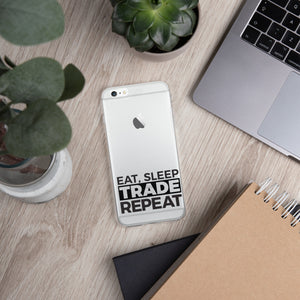 Eat, Sleep, Trade - iPhone Case