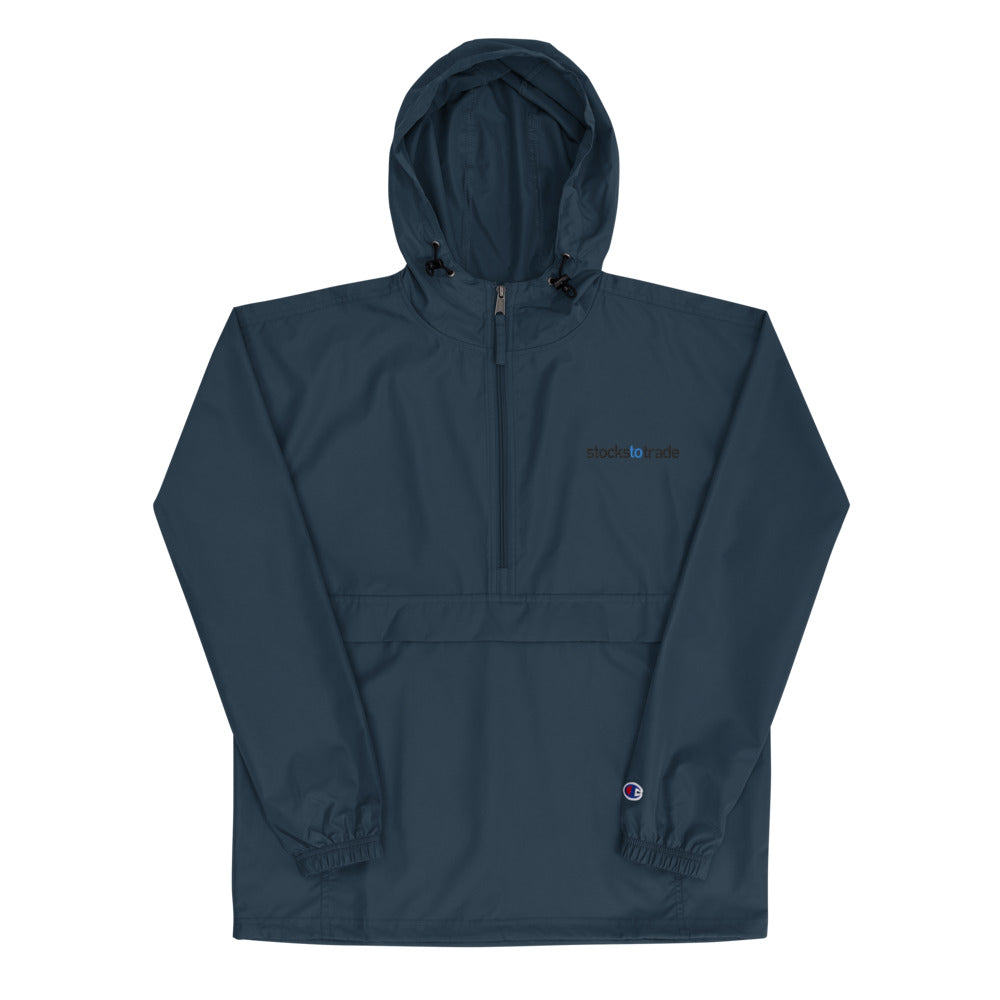 Stockstotrade - Embroidered Champion Packable Jacket