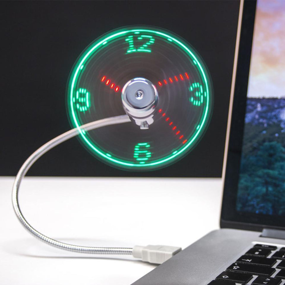 USB LED Time Display Clock (Limited Time!)
