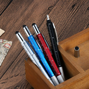 6 in 1 Multifunctional Ballpoint Stylus Pen