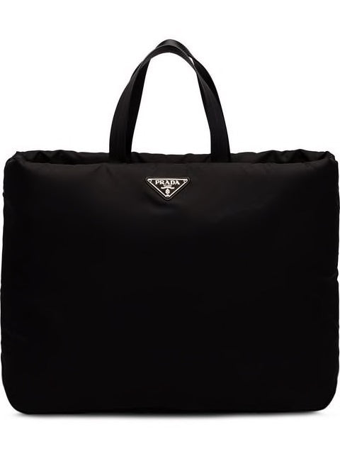 Prada large padded nylon