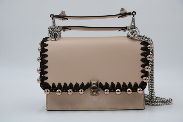 FENDI KAN  Liberty Ribbon Pearl