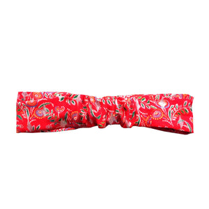 Headband rouge Gabrielle made in France Atelier Madeleine