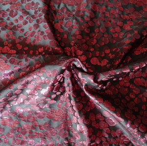 Tissu Noeud cache-agrafes de soutien-gorge Atelier Madeleine made in France haute couture rouge