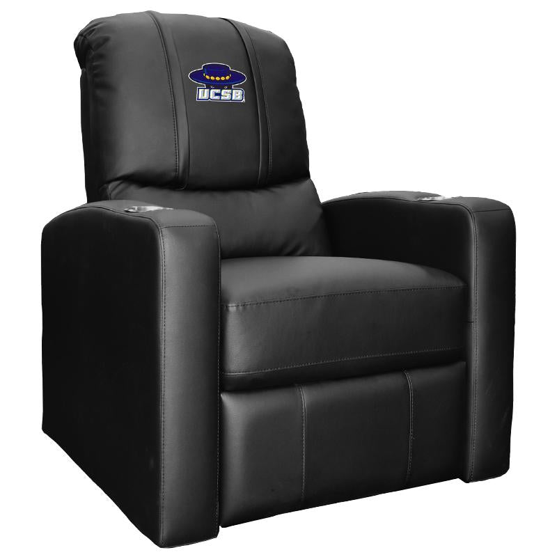 Awe Inspiring Stealth Recliner With Cal At Santa Barbara Gauchos Logo Theyellowbook Wood Chair Design Ideas Theyellowbookinfo