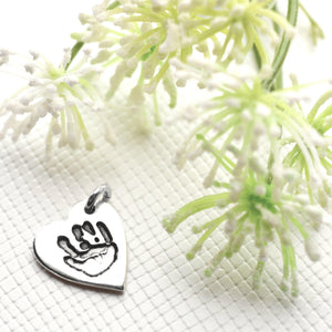 Handprint or Footprint Charm-Memory Treasures UK