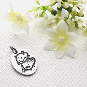 Original Drawings & Handwriting Pendant-Memory Treasures UK