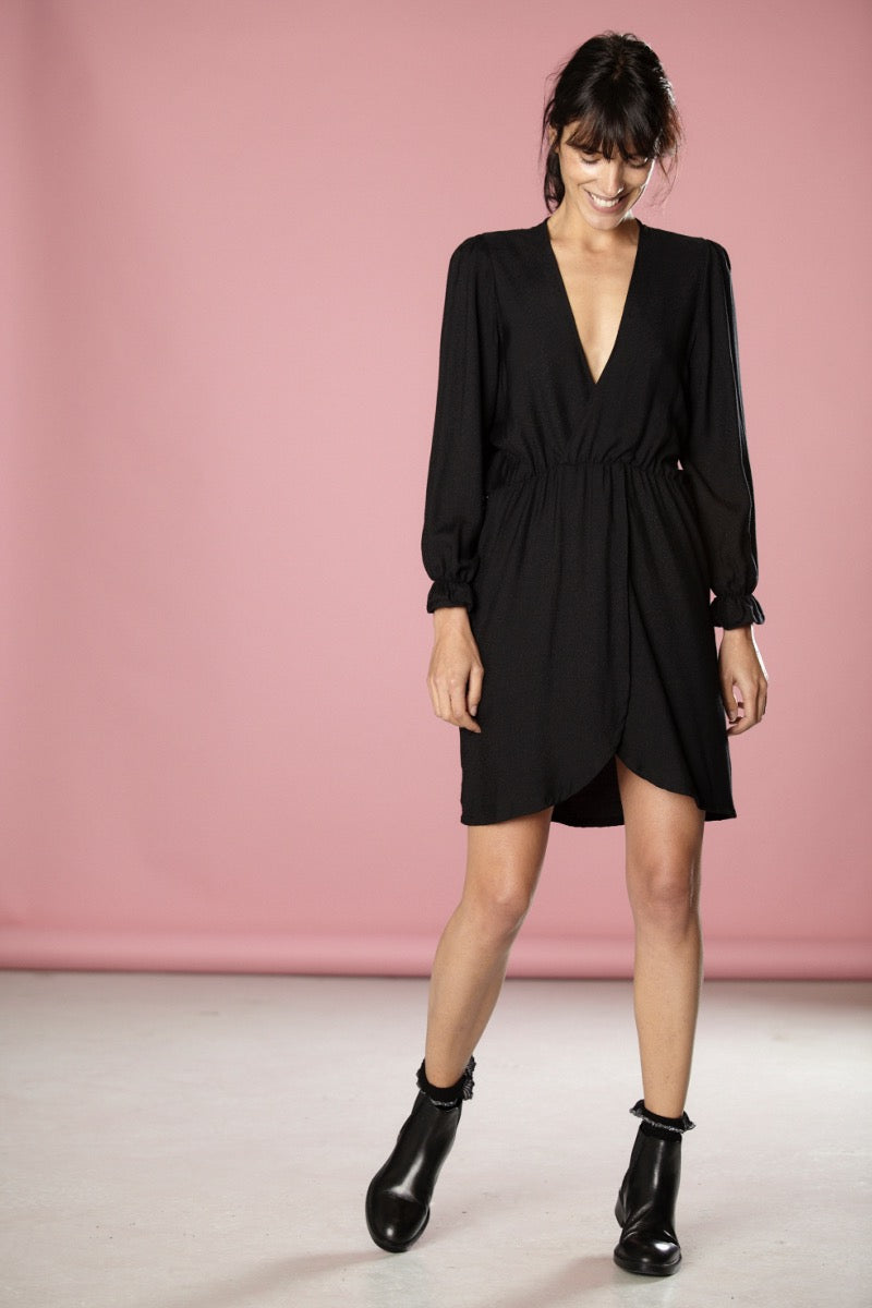 Robe Christine noir