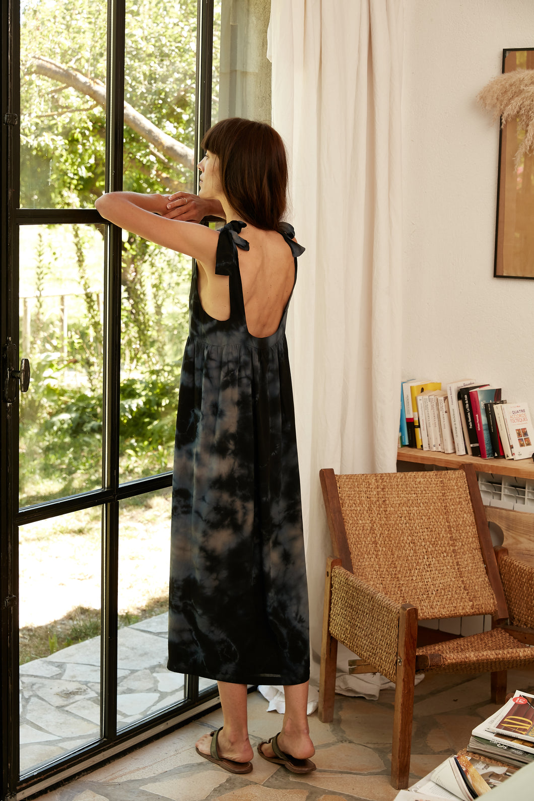 Robe Louisette Tie and dye