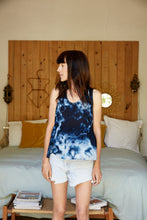 Top Violette tie and dye