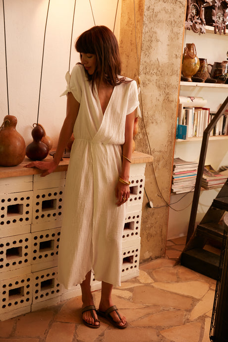 Robe Christine nacre
