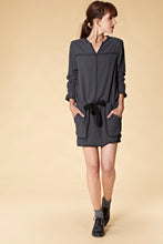 Robe mathieu anthracite