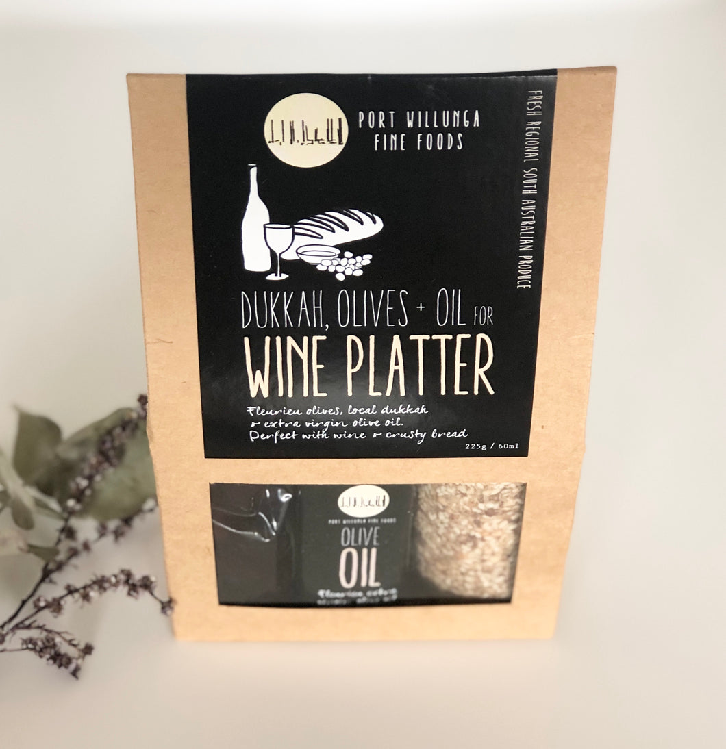 Port Willunga Fine Foods Wine Platter Gift Set