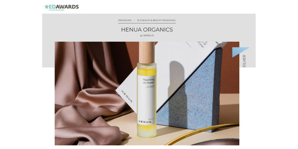 Henua Organics Awarded in European Design Awards
