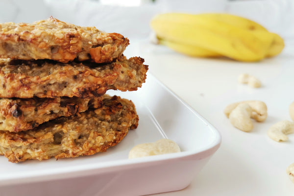 Beauty Boosting Recipe: Healthy oat-banana-nut cookies