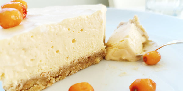 Beauty Boosting Recipe: Delicious Sea Buckthorn Cheese Cake
