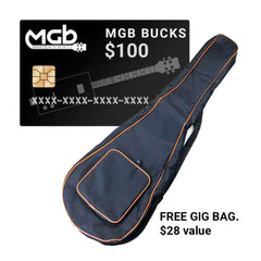 $100 MGB Bucks | Store Gift Card (FREE Gig Bag)