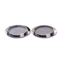 Pair Of 2.25in Sound Hole Cover | Chrome