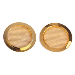 Pair Of 2.25in Sound Hole Cover | Gold