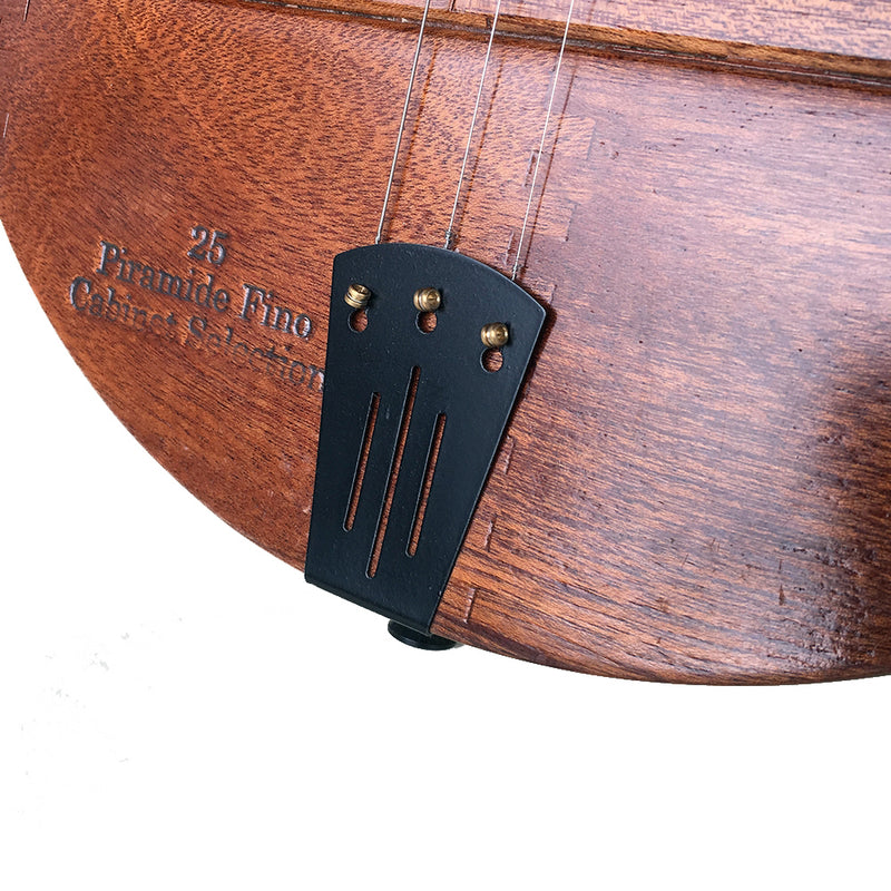 3-String Formed Tailpiece | Black