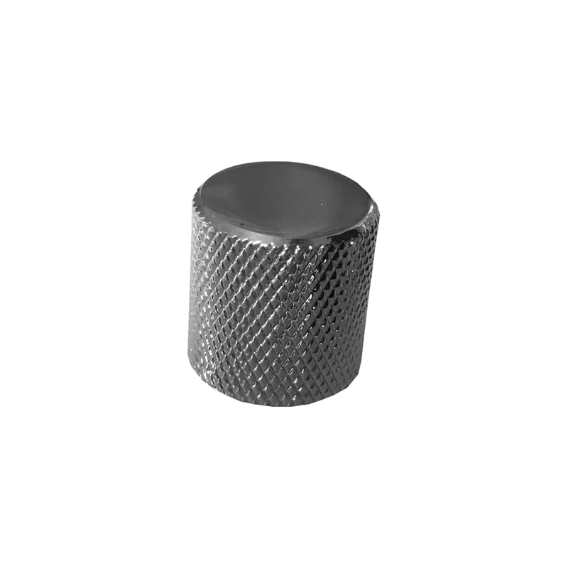 Chrome Flat Top Knurl Knob