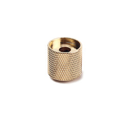 Gold Domed Top Knurl Knob