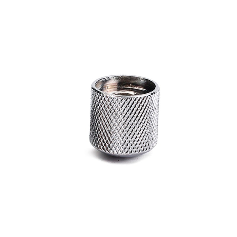 Chrome Domed Top Knurl Knob
